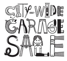 city wide garage sale logo